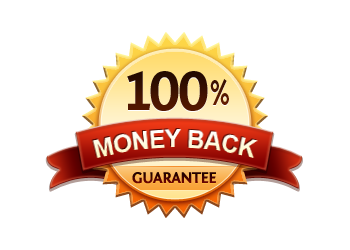 Money Back Guarantee 100% - Burst Badge Orange